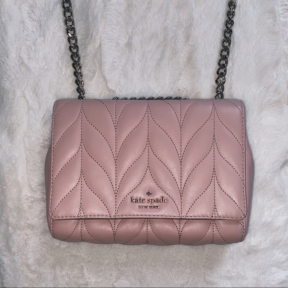 KATE SPADE ♠️ Quilted Mini Emelyn Crossbody Bag